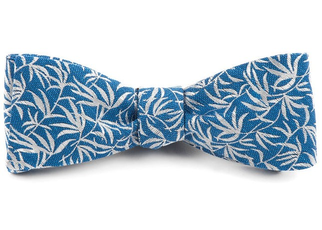 The Malecon Classic Blue Bow Tie