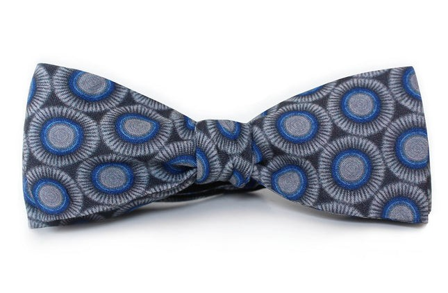 The Biltmore Grey Bow Tie