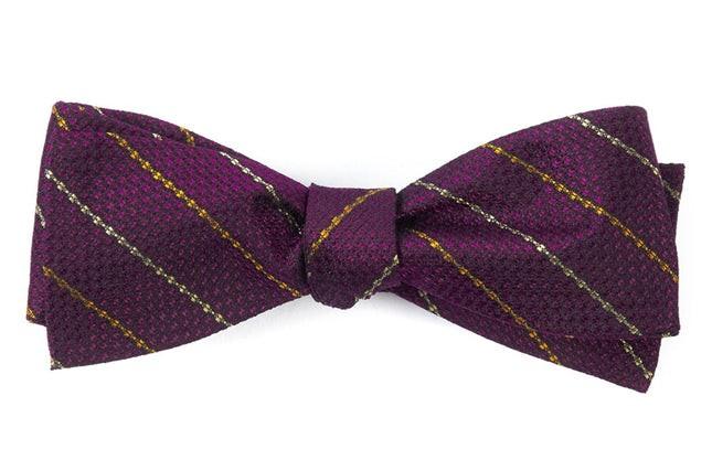 The Booth Deep Azalea Bow Tie