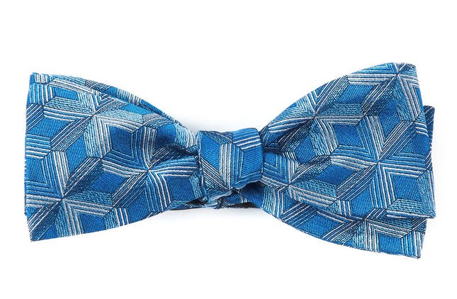The Lyceum Serene Blue Bow Tie