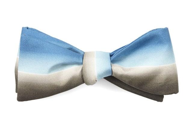 One Dapper Street By Marcel Floruss Light Blues Bow Tie