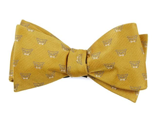 The Signature Mustard Bow Tie