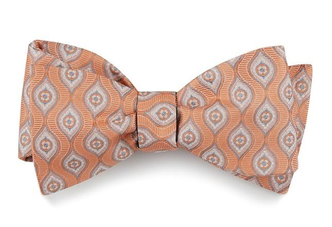 The Iowa Tangerine Bow Tie