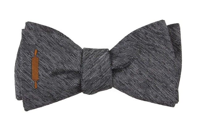 The Dominique Ansel Grey Bow Tie