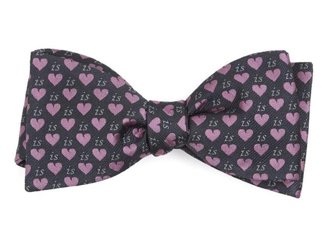 The Debra Messing Grey Bow Tie