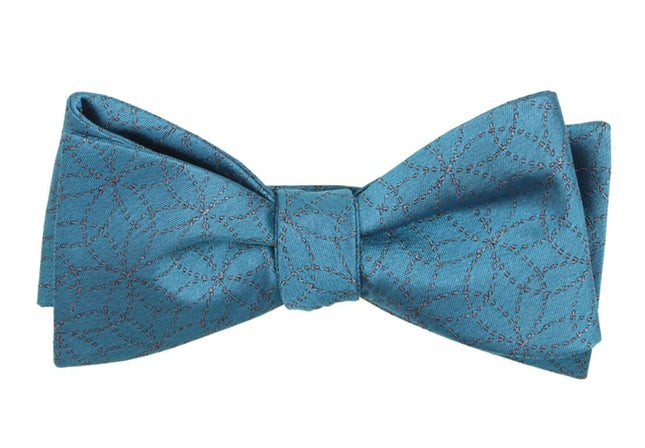 The Royal Serene Blue Bow Tie