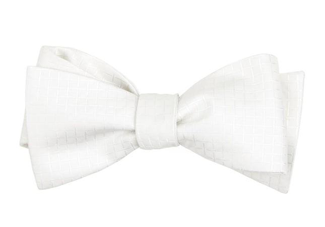 The Pius White Bow Tie