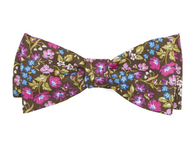 The Menaul Brown Bow Tie