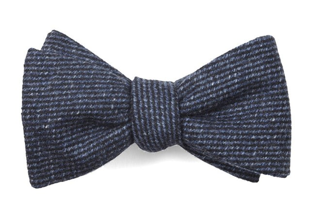 Wright Solid Classic Blue Bow Tie