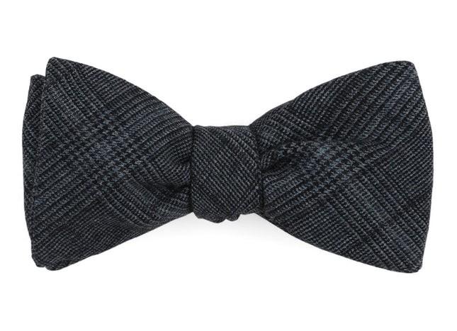Glen Haze Grey Bow Tie