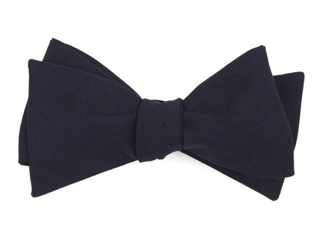 Cooper Solid Navy Bow Tie