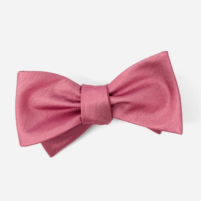 Grosgrain Solid Rosewood Bow Tie