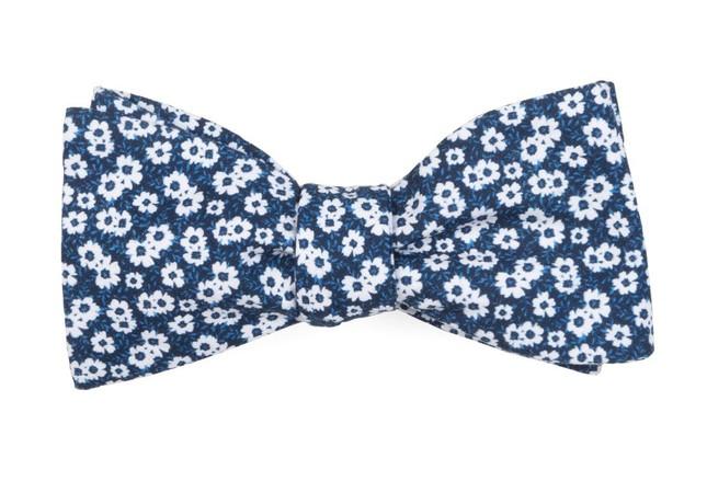 Alfresco Floral Navy Bow Tie