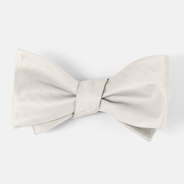 Mumu Weddings - Desert Solid Wedding Cake Bow Tie