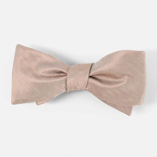 Mumu Weddings - Desert Solid Dune Bow Tie