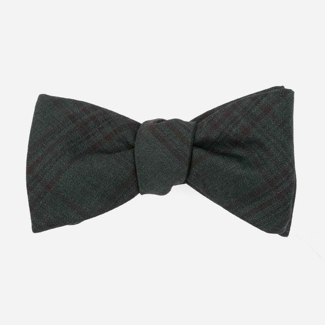 Harvest Glen Plaid Hunter Green Bow Tie