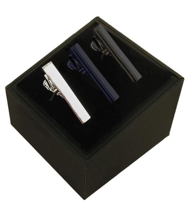 Essential 3 Pack Set Black Tie Bar