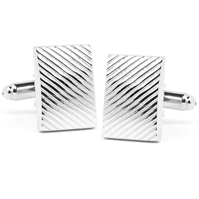 Silver Sweep Cufflinks