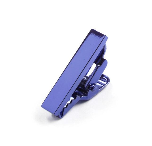 Metallic Color Royal Blue Tie Bar