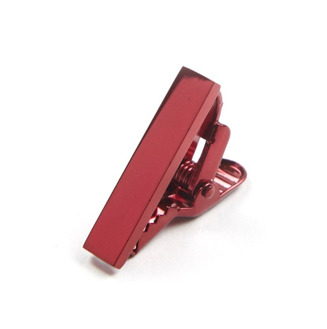 Metallic Color Red Tie Bar