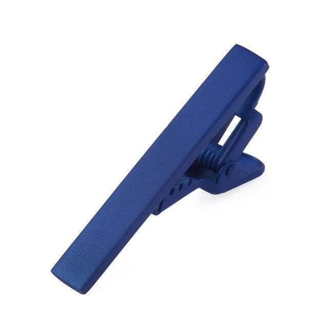 Matte Color Blue Tie Bar