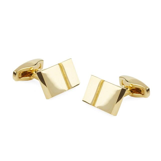 Bricked Gold Cufflinks