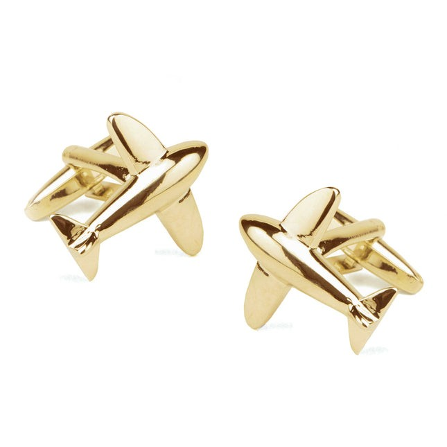 Flight Gold Cufflinks