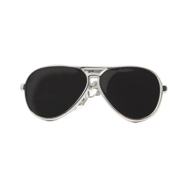 Sunglasses Silver Tie Bar