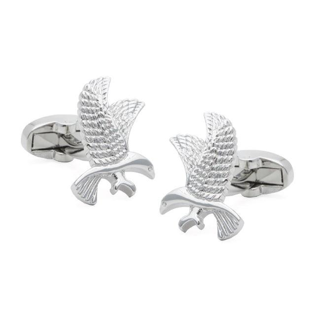 Windsor The Eagle Silver Cufflinks