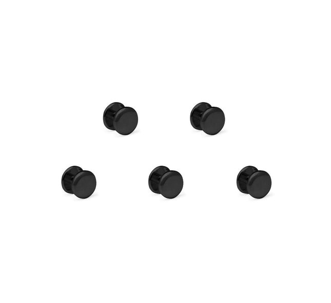 Tuxedo Five-Stud Set Black Cufflinks