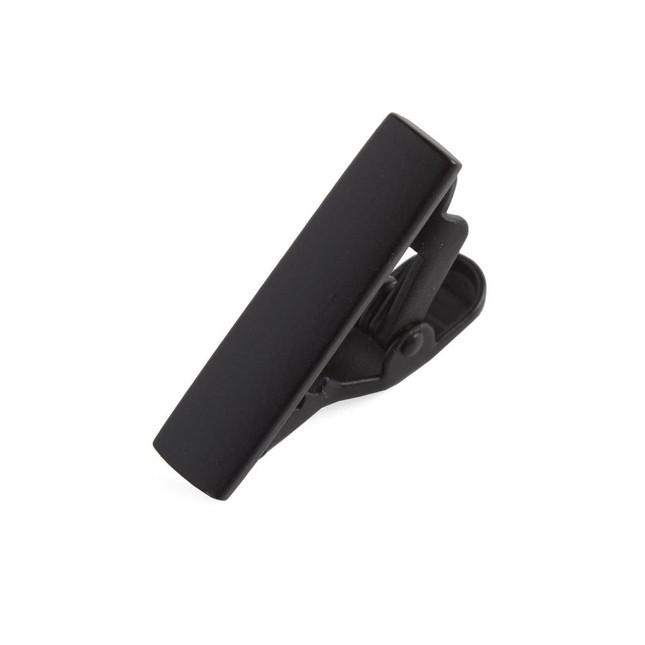 Matte Color Black Tie Bar