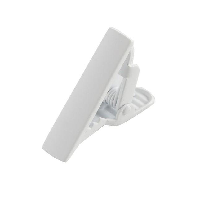 Matte Color White Tie Bar