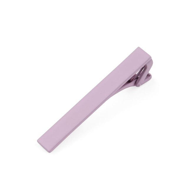 Matte Color Pink Tie Bar