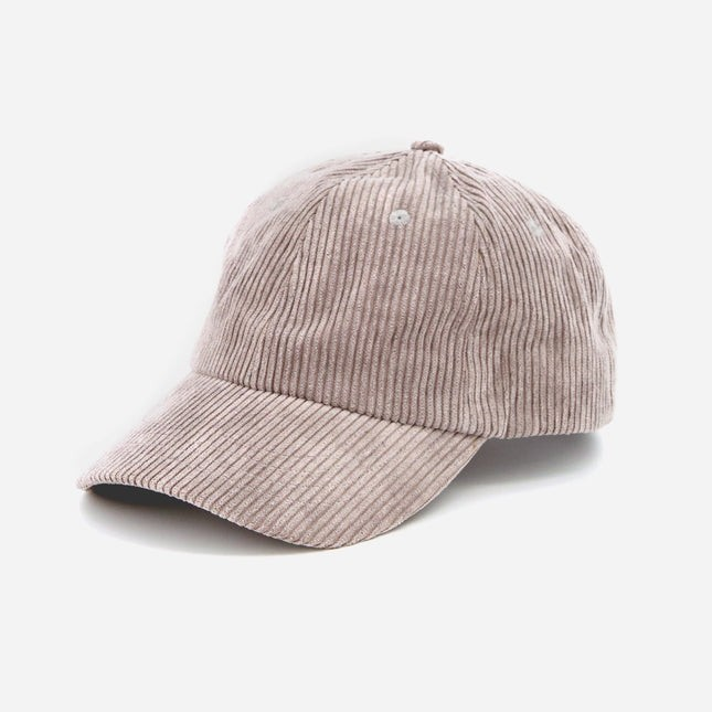 Corduroy Light Grey Dad Hat