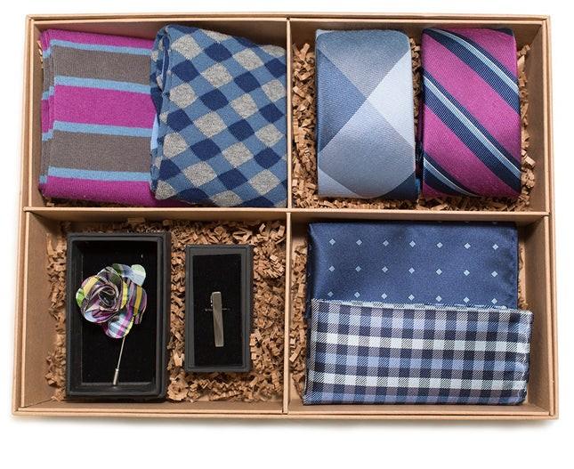 The Azalea And Navy Style Box Gift Set