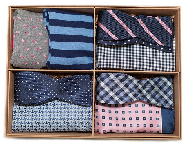 The Pink And Navy Style Box Gift Set