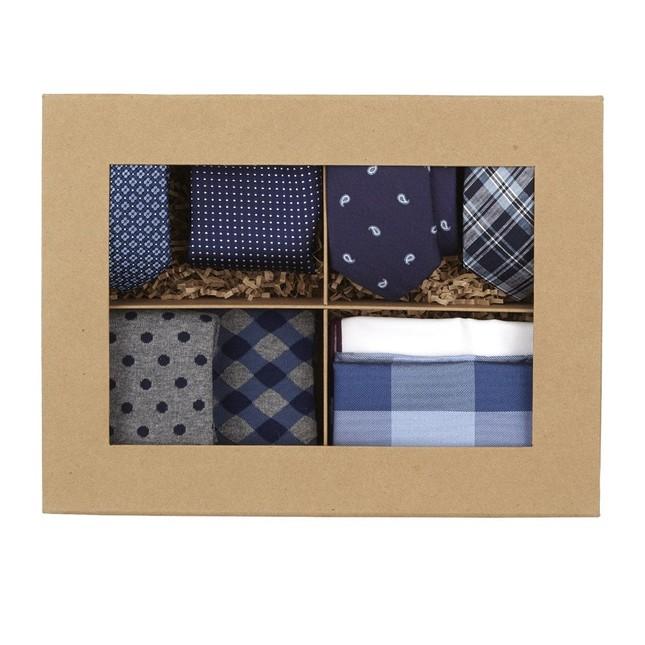 Eggplant + Navy Style Box Gift Set
