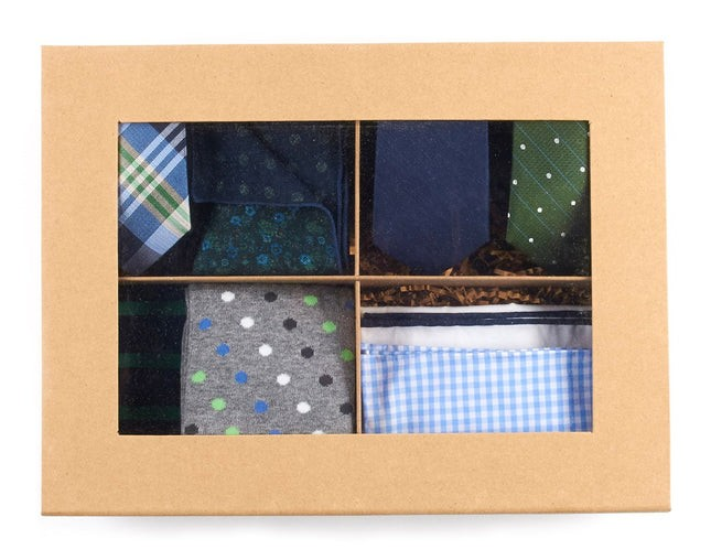 The Green + Navy Style Box Gift Set