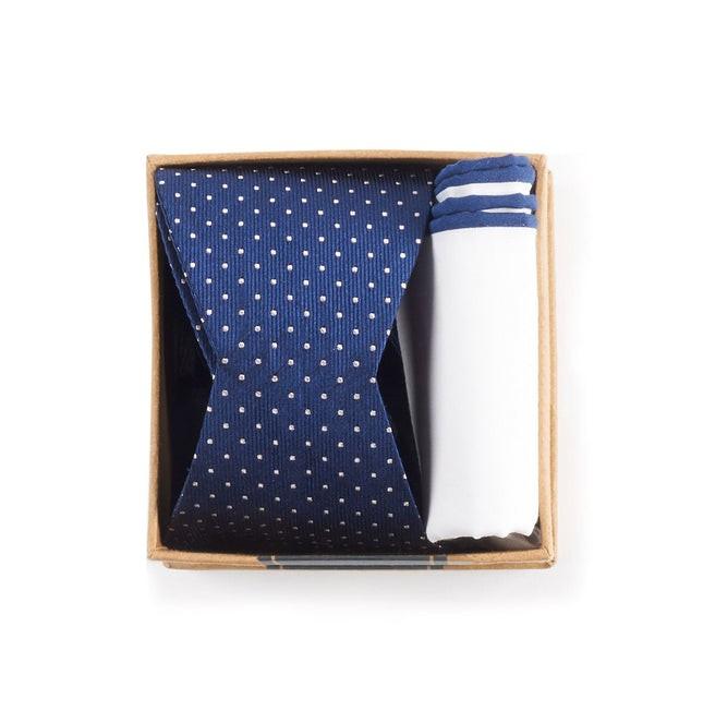 Navy Bow Tie Box Gift Set