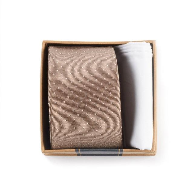 Champagne Tie Box Gift Set