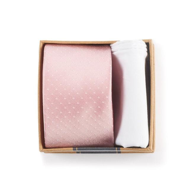 Blush Pink Tie Box Gift Set