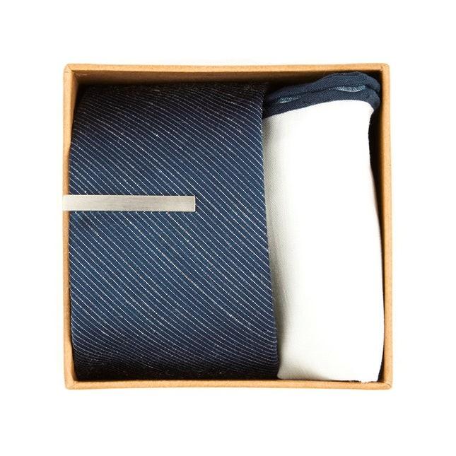 Bhldn Navy Solid Gift Set