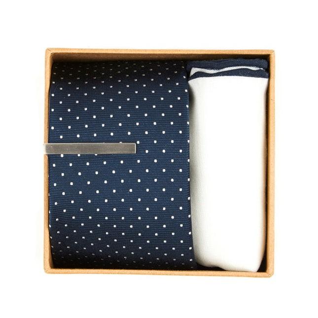 Bhldn Navy Dot Gift Set