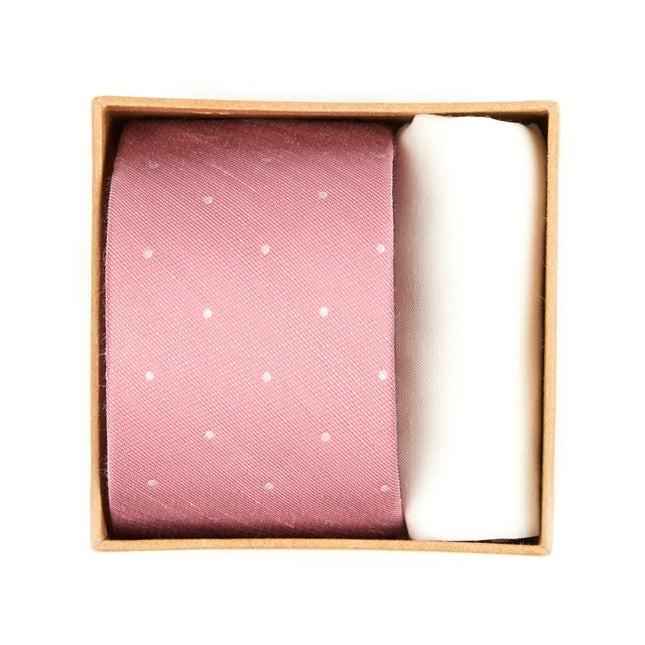 Bulletin Dot Tie Box Pink Gift Set