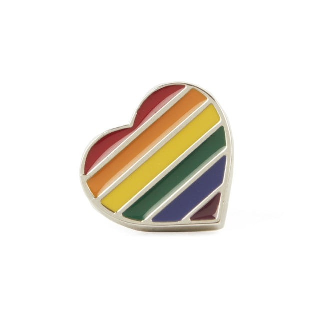 The Equality Pin Silver Lapel Pin