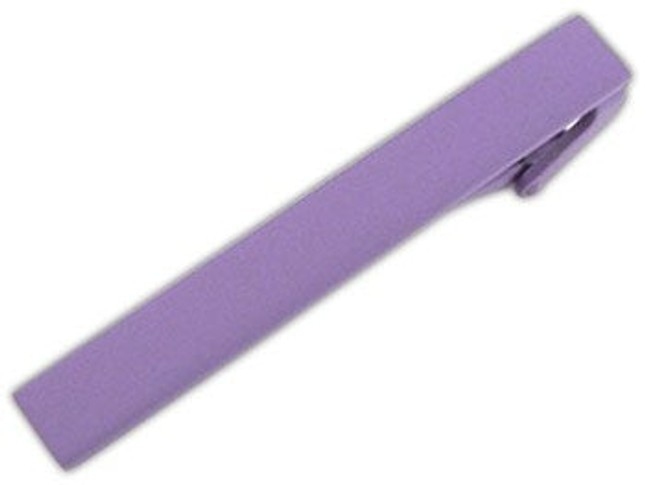 Matte Color Lavender Tie Bar