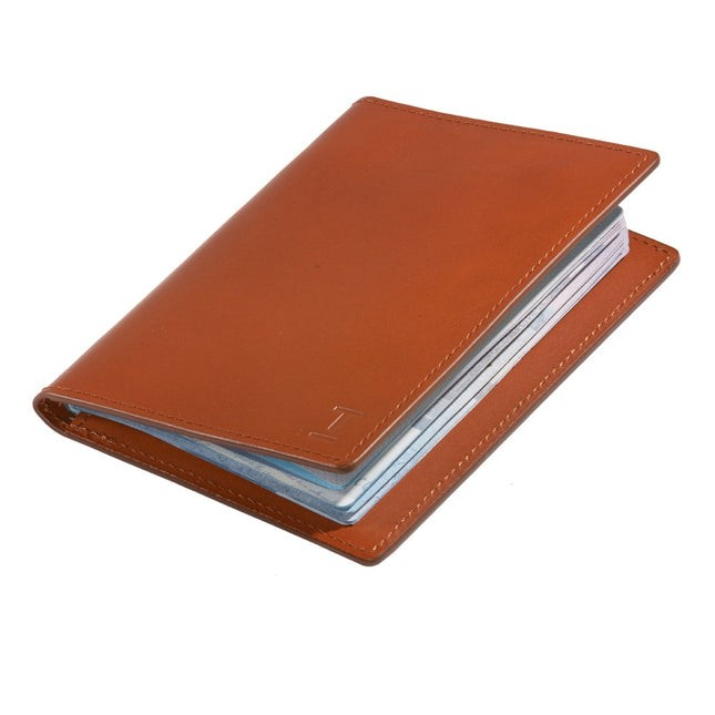 Brown Leather Passport Cover