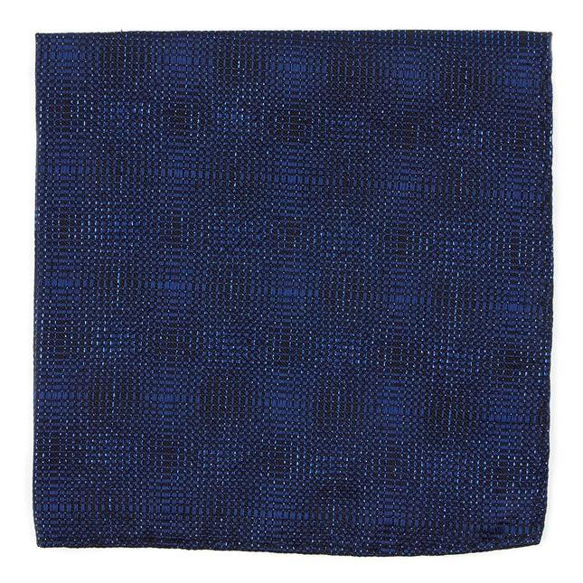 Blue Christmas By Dwyane Wade Royal Blue Pocket Square