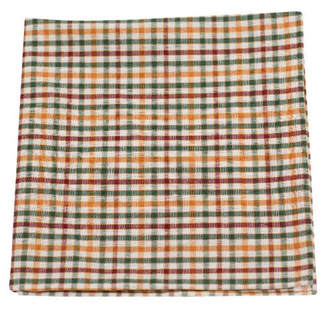 Ashland Plaid Emerald Pocket Square