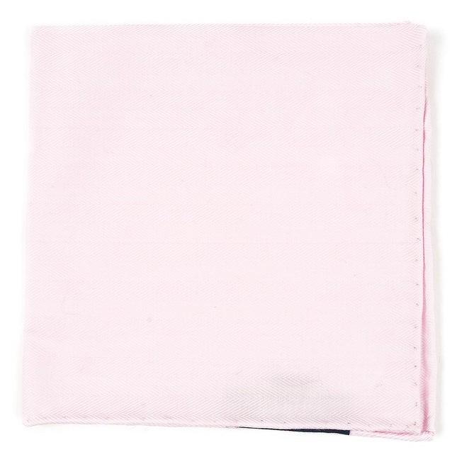 Solid Flex Blush Pink Pocket Square